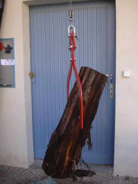 GRIFFE A BOIS SIMPLE eBay # Pince De Levage Griffe Pour Treuil Fendeuse À Bois