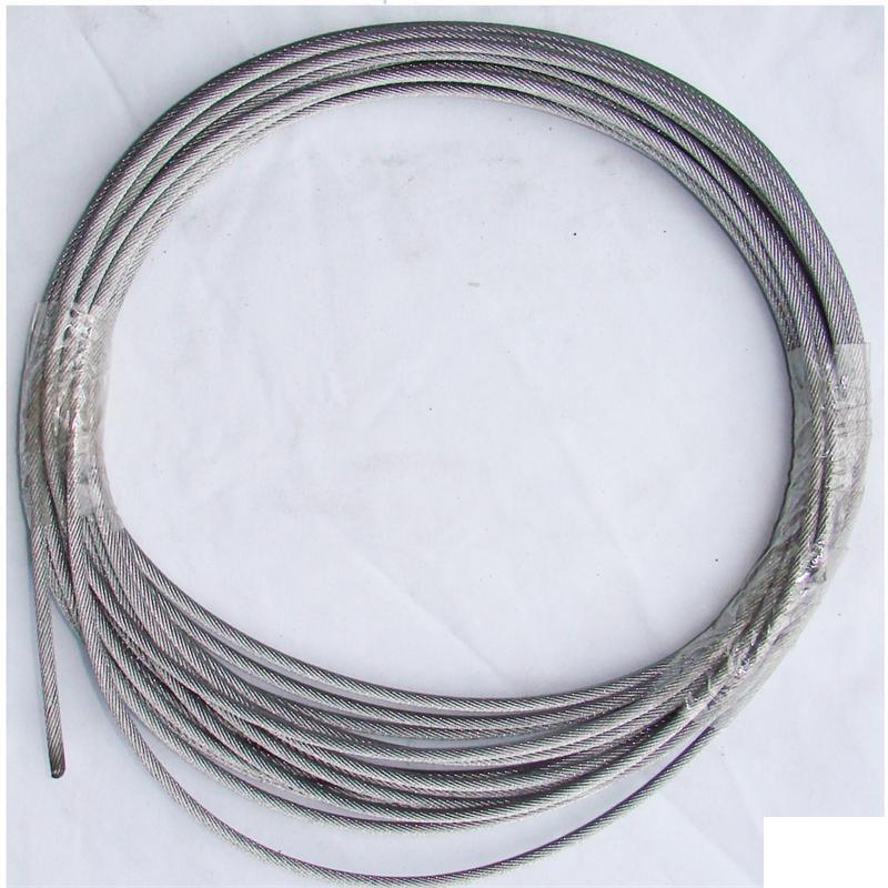 cable acier tresse 6 0mm 12m 3000kg pa 1200. Black Bedroom Furniture Sets. Home Design Ideas