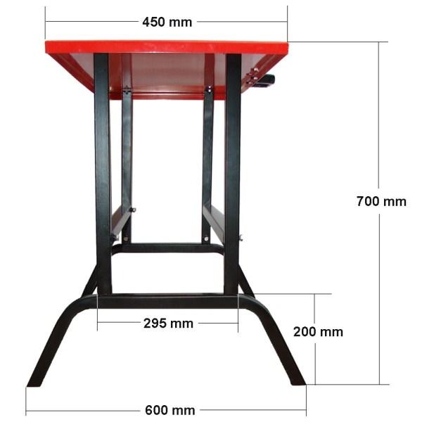table de travail universelle pour fendeuse ou machine d. Black Bedroom Furniture Sets. Home Design Ideas