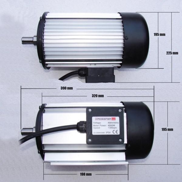 Moteur ws700 380v flasques - Scie electrique pour branches ...
