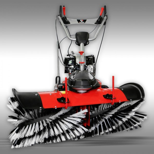 BALAYEUSE Jansen MKB-500 BS 6,5 CV + Lame neige + Collecteur